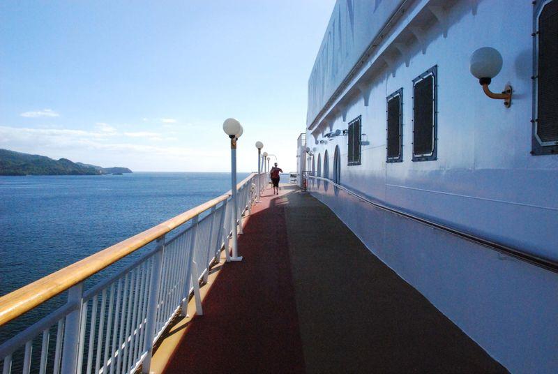 Cruise Ship Track